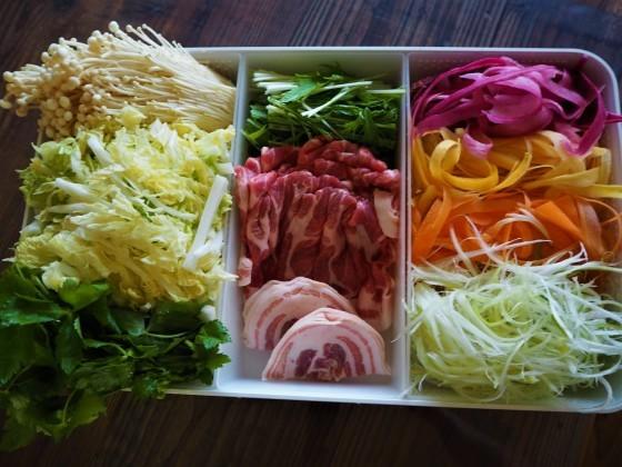 カラフル野菜のだししゃぶ_a0258686_05401488.jpg