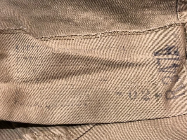 7月20日(土)マグネッツ大阪店スーペリア入荷!!#3 Military Part2編!! 50\'s BakerPants & U.S.N. UtilityShorts!!_c0078587_18234394.jpg