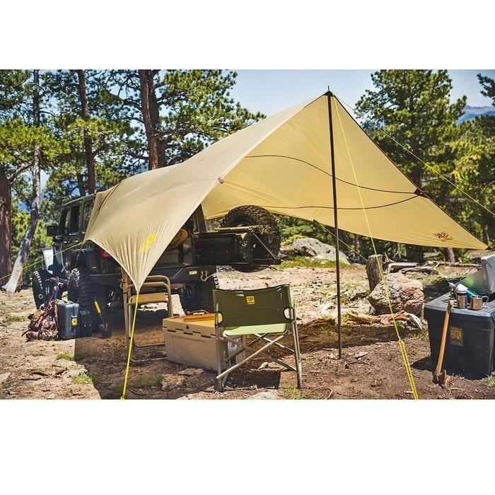 SLUMBERJACK(スランバージャック) ロードハウスタープ ハイランダーROADHOUSE TARP SAFARI.BEIGE A58755517 タープ、キャンプ、テント_f0051306_18194535.jpg
