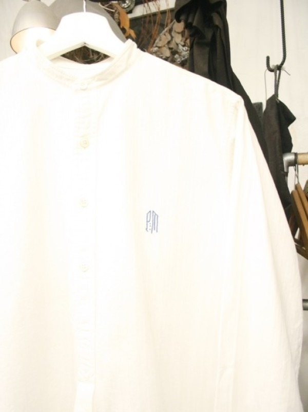 平成最後のヨーロッパ買い付けのオマケ 入荷グランパシャツ、ロングシャツ_f0180307_01095682.jpg