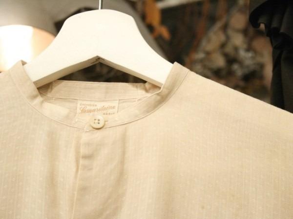 平成最後のヨーロッパ買い付けのオマケ 入荷グランパシャツ、ロングシャツ_f0180307_01200259.jpg