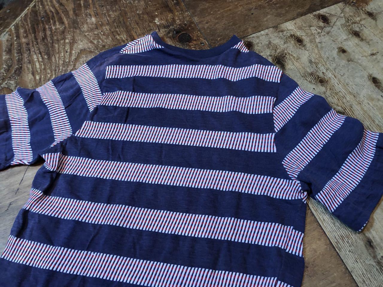 7月20日(土)入荷!70s all cotton  J.C Penny\'s Towncraft ジャガードボーダー Tシャツ! _c0144020_13533211.jpg