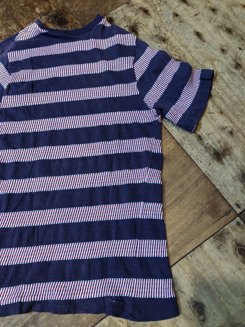 7月20日(土)入荷!70s all cotton  J.C Penny\'s Towncraft ジャガードボーダー Tシャツ! _c0144020_13533521.jpg