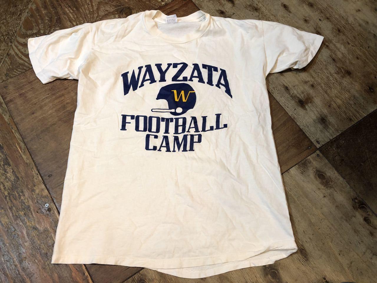 7月20日(土)入荷!80s all cotton カレッジFOOTBALL CAMP Tシャツ STEDMAN_c0144020_13560134.jpg