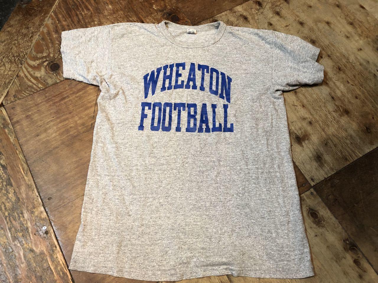 7月20日(土)入荷!80s チャンピオン トリコタグ WHEATON カレッジ 88/12 Tシャツ!_c0144020_14122188.jpg