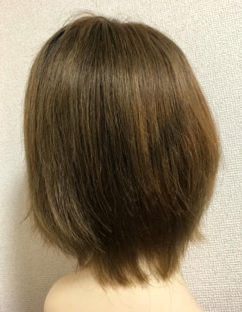 色味を変えて楽しめる☆人毛100%ふくりび医療用ウィッグのカラーメンテナンス_f0277245_16515056.jpg