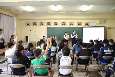 十和田西高生が小学生へセーフコミュニティ普及活動_f0237658_12443461.jpg