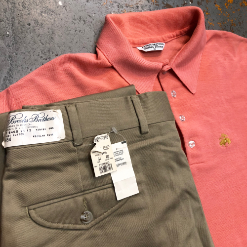 ◇ Brooks Brothers Golden fleece S/S Polo Shirts ◇_c0059778_20271181.jpg