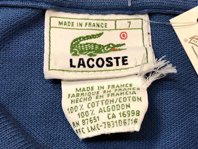 7月20日(土)マグネッツ大阪店スーペリア入荷!!#5 Shirt & Tee編!! LACOSTE & 60\'s Pajama、HempTee!!_c0078587_1315183.jpg