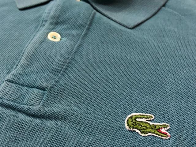 7月20日(土)マグネッツ大阪店スーペリア入荷!!#5 Shirt & Tee編!! LACOSTE & 60\'s Pajama、HempTee!!_c0078587_13161887.jpg