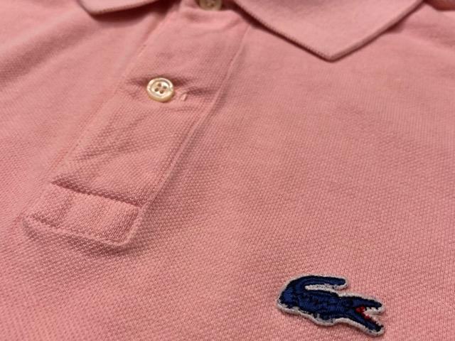 7月20日(土)マグネッツ大阪店スーペリア入荷!!#5 Shirt & Tee編!! LACOSTE & 60\'s Pajama、HempTee!!_c0078587_13265755.jpg