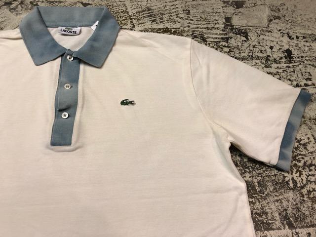 7月20日(土)マグネッツ大阪店スーペリア入荷!!#5 Shirt & Tee編!! LACOSTE & 60\'s Pajama、HempTee!!_c0078587_1331281.jpg