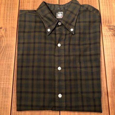 "1960s \"" Mc GREGOR \"" 100% cotton VINTAGE Button/Down S/S CHECK SHIRTS ._d0172088_20184937.jpg"