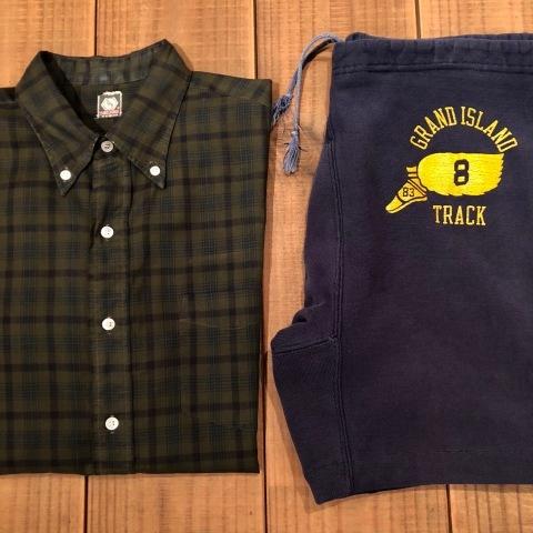 "1960s \"" Mc GREGOR \"" 100% cotton VINTAGE Button/Down S/S CHECK SHIRTS ._d0172088_20264645.jpg"