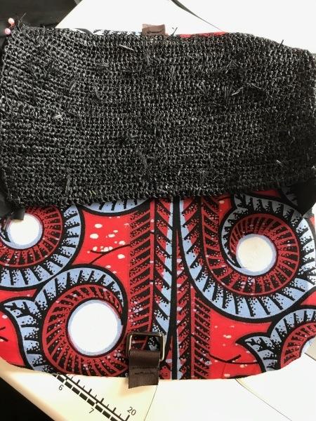 アフリカンバッグ2個目と帽子のリボン_e0397389_11331546.jpeg