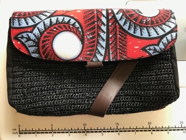アフリカンバッグ2個目と帽子のリボン_e0397389_11335987.jpeg