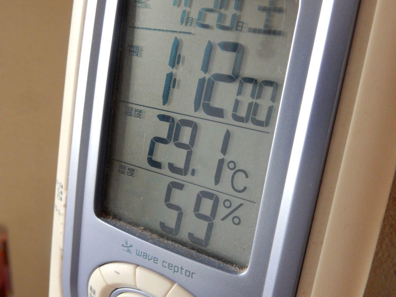 札幌では十分暑い29℃_c0025115_22052102.jpg