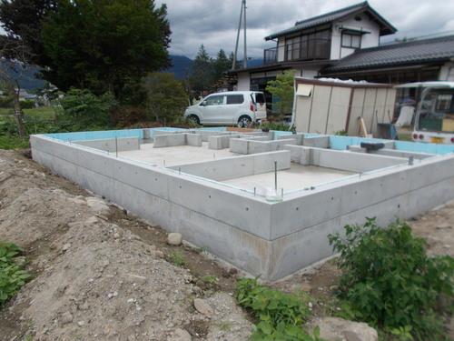 安曇野市MA邸工事始めました。_c0218716_16532776.jpg