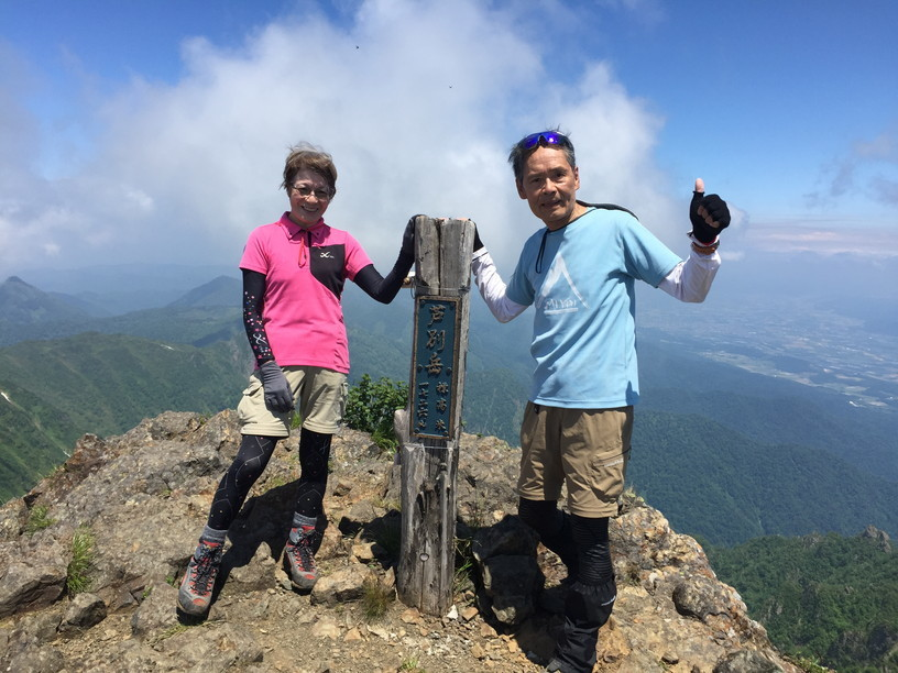 "2019年7月 『青春の思い出 ー 芦別岳 1726m』 July 2019 ""Mt Ashibetsu, my sentimental mountain\""_c0219616_19031078.jpg"