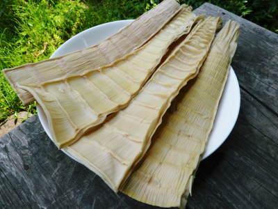 干したけのこ 自家製メンマを作ってみませんか?そして熊本のお盆にはコレ!棒鱈と干したけのこの煮物!!_a0254656_17184442.jpg