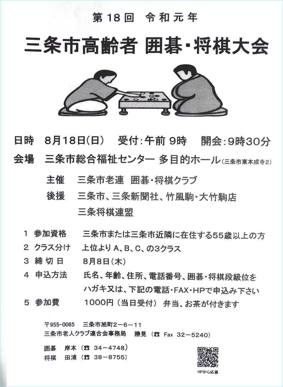 三条市高齢者 囲碁・将棋大会_f0031459_10013449.jpg