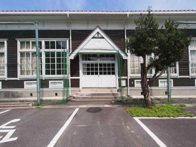 旧波積小学校講堂_f0116479_13072446.jpg