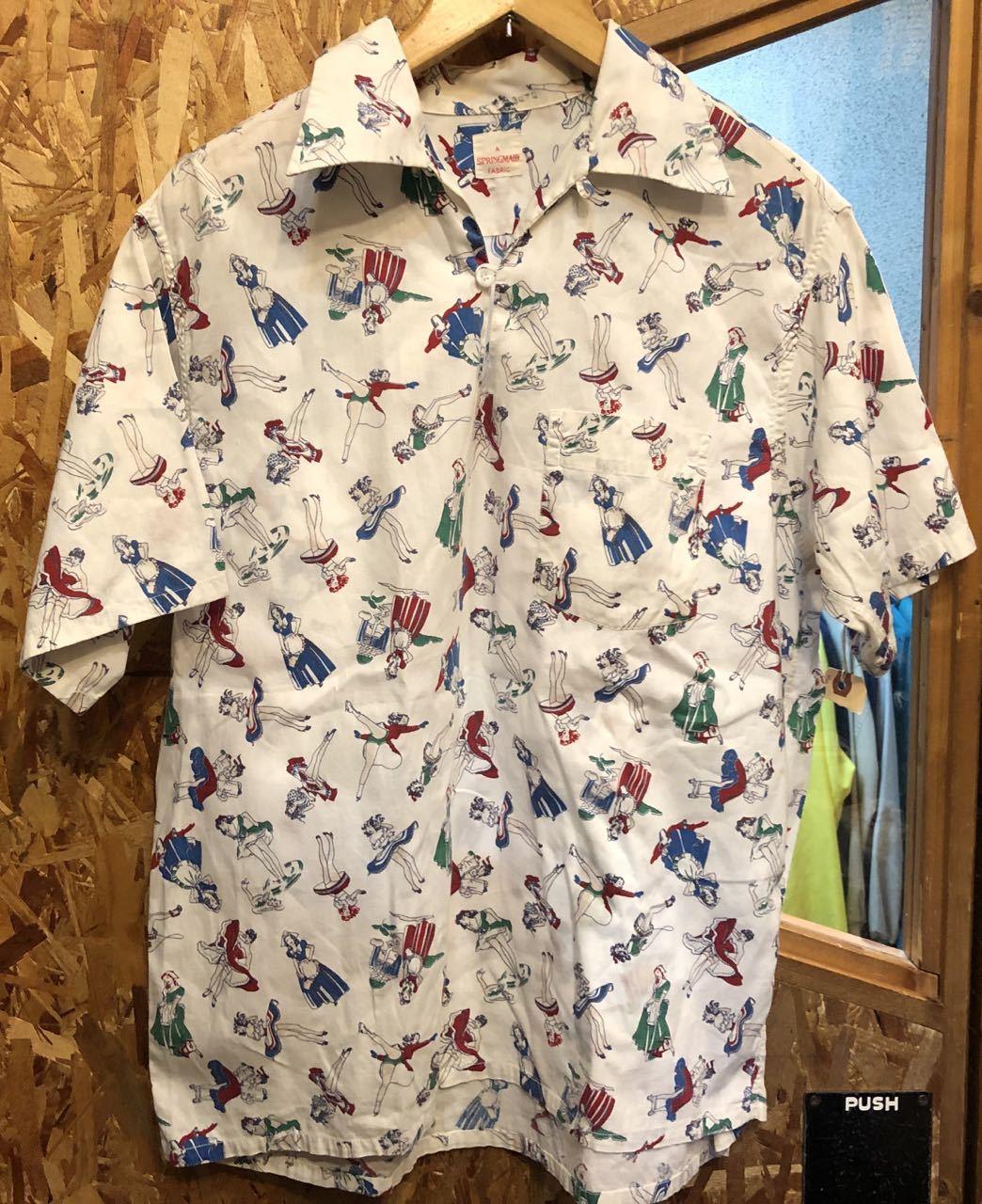 7月21日(日)入荷! 50s ビンテージ パンチラシャツ!!_c0144020_12433508.jpg