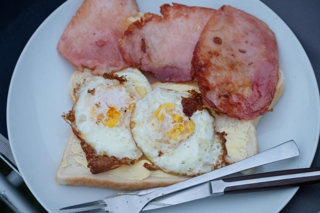 キャンプの朝 Bluny Island  Tasmania  6月28日_f0050534_23203314.jpg
