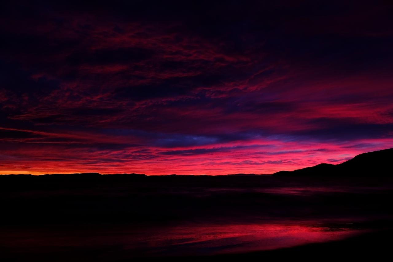 Bluny Island  Tasmania   6月28日 黎明_f0050534_23223967.jpg