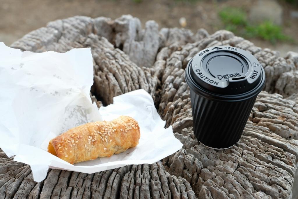 キャンプの朝 Bluny Island  Tasmania  6月28日_f0050534_23362255.jpg
