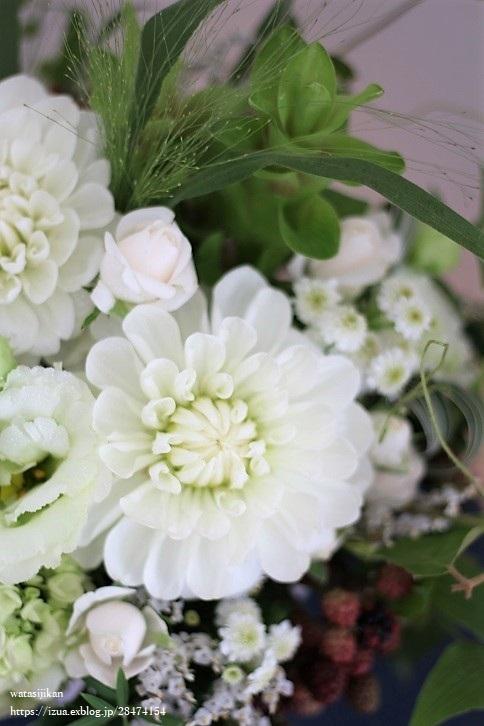 結婚記念日の花_e0214646_23005231.jpg
