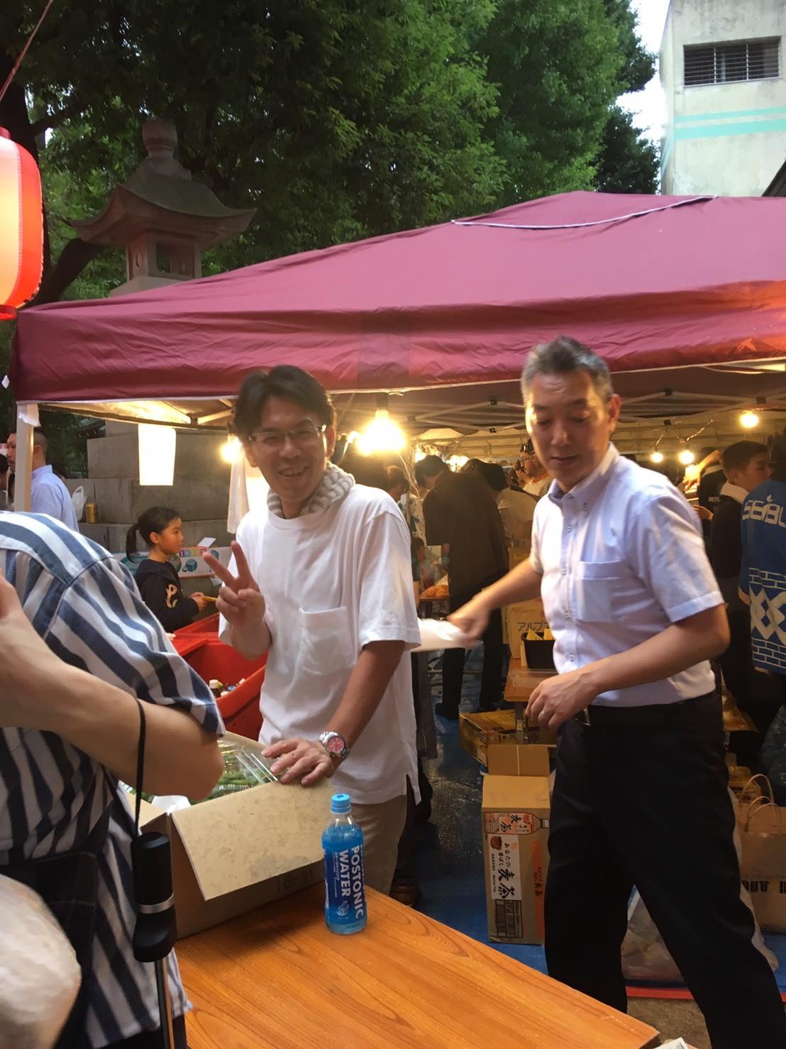 「盆踊り大会」_a0075684_15054484.jpg