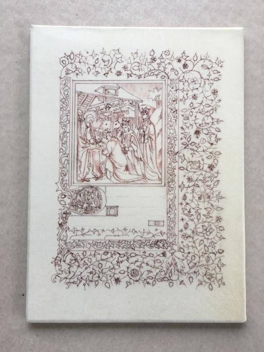装飾写本のはじめ  ー土曜日コースー_b0205287_20491796.jpg
