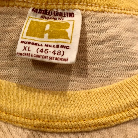"""1970s \"""" RUSSELL ATHLETIC \"""" 100% cotton VINTAGE - ROWING CLUB - Tee SHIRTS ._d0172088_21444492.jpg"""