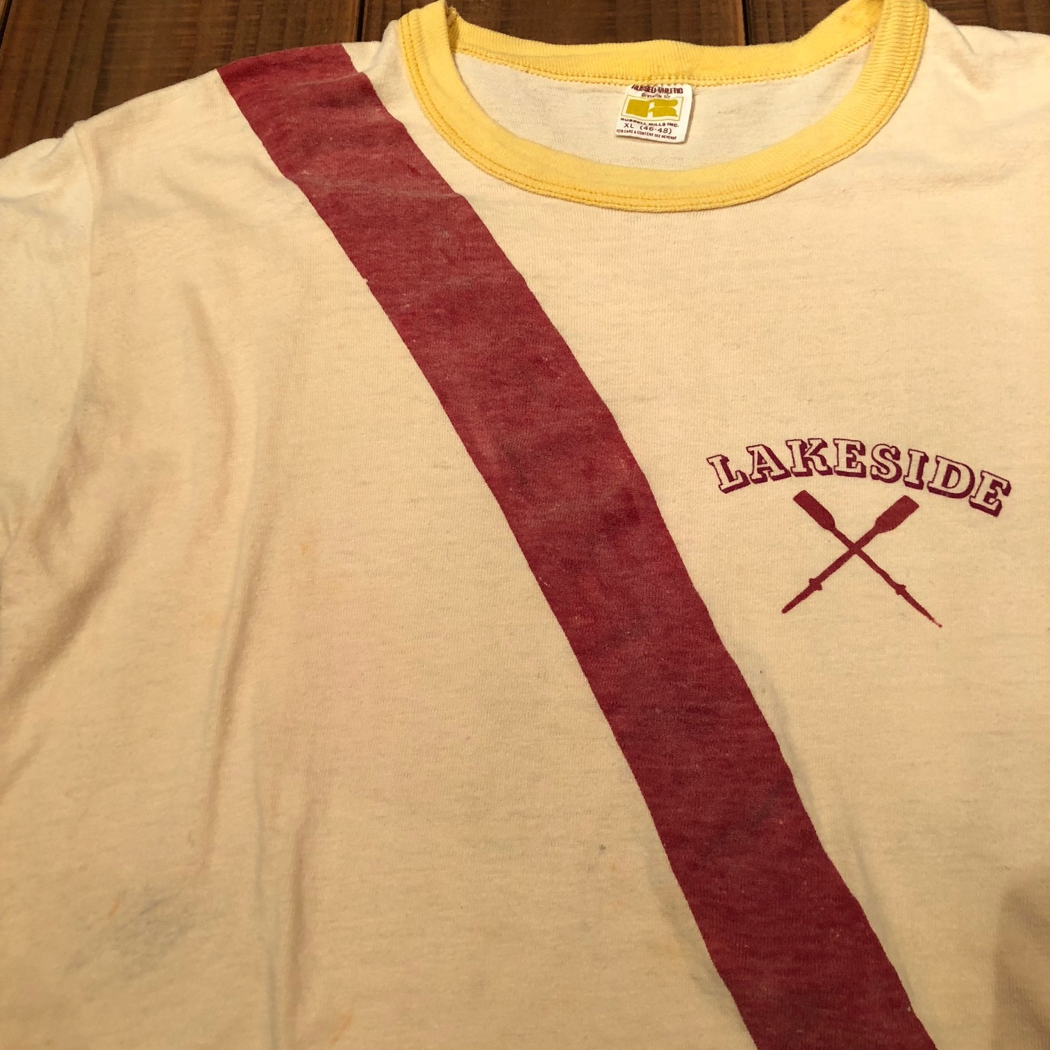 """1970s \"""" RUSSELL ATHLETIC \"""" 100% cotton VINTAGE - ROWING CLUB - Tee SHIRTS ._d0172088_21451978.jpg"""