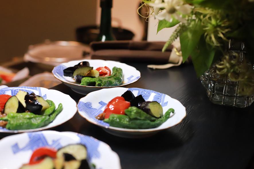 七夕の夕べ〜和のスタイルのお料理と夏酒&番外編_b0208604_13321989.jpg