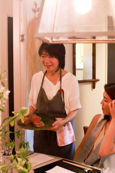 七夕の夕べ〜和のスタイルのお料理と夏酒&番外編_b0208604_15051316.jpg