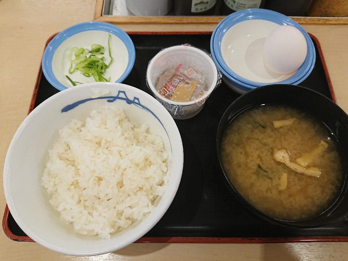 7/22  選べる小鉢の玉子かけごはん納豆ライスミニ¥260 @松屋_b0042308_06510297.jpg