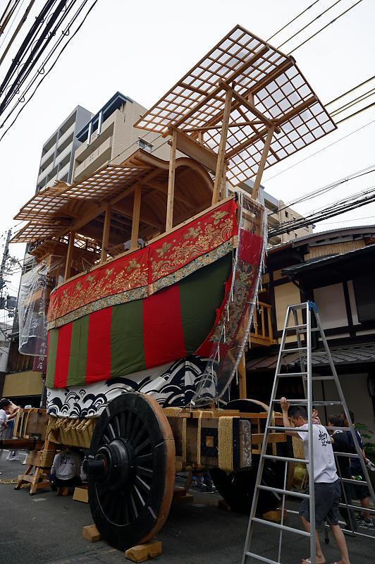 2019祇園祭後祭・山鉾建て 其の一_f0032011_20050019.jpg