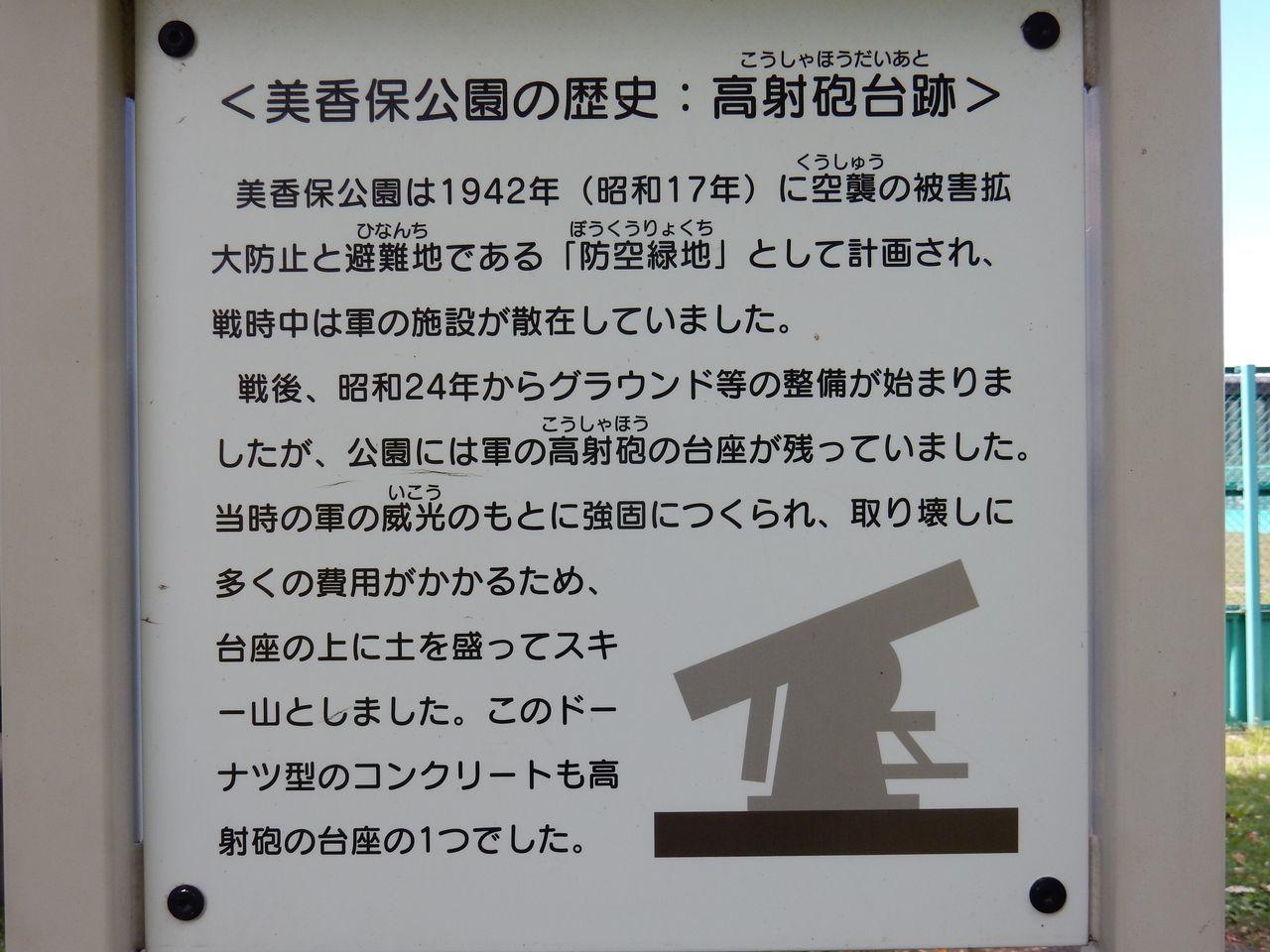 美香保公園の山には高射砲の台座が埋まっている_c0025115_23285500.jpg