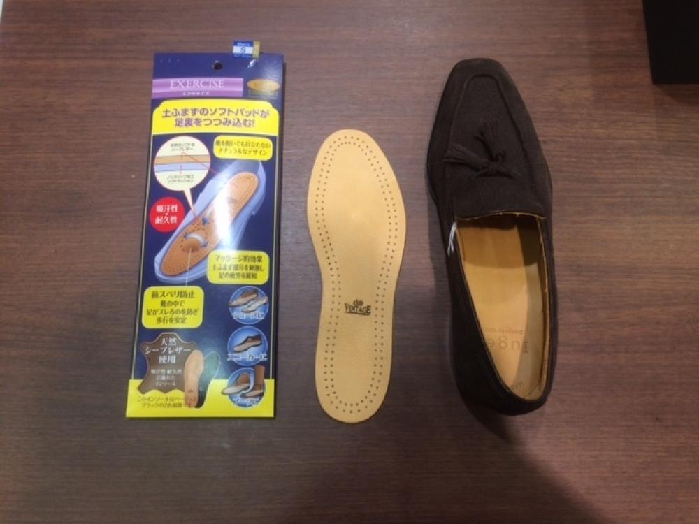 マッケイ製法の靴にエクササイズを_b0226322_20515544.jpg
