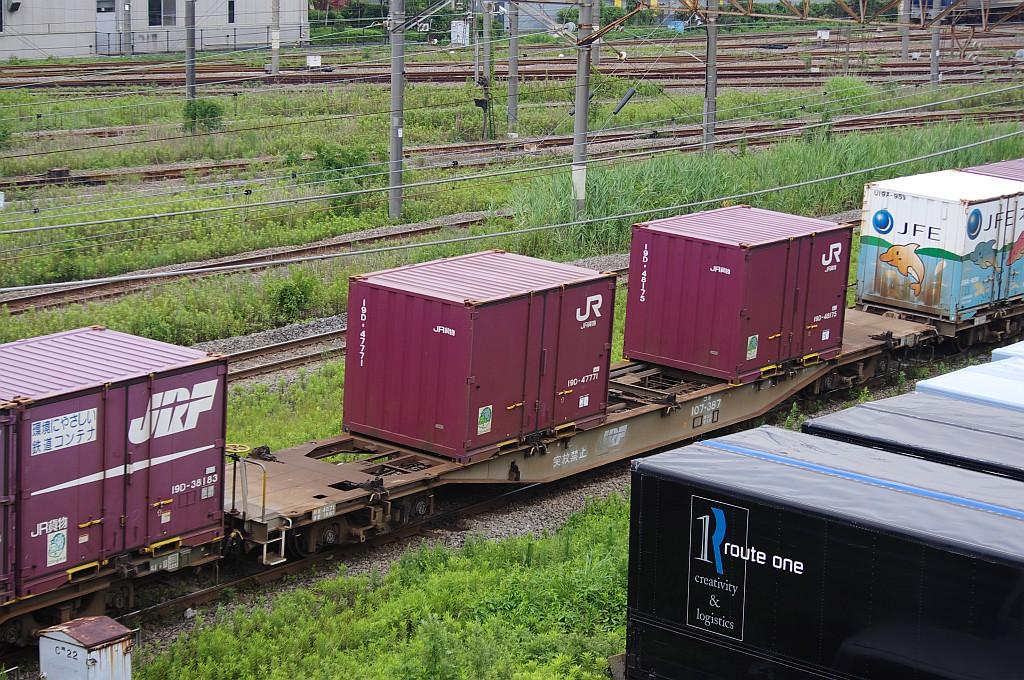 7/20東京貨物ターミナルにて2092レのコキとコンテナ_f0203926_22332252.jpg