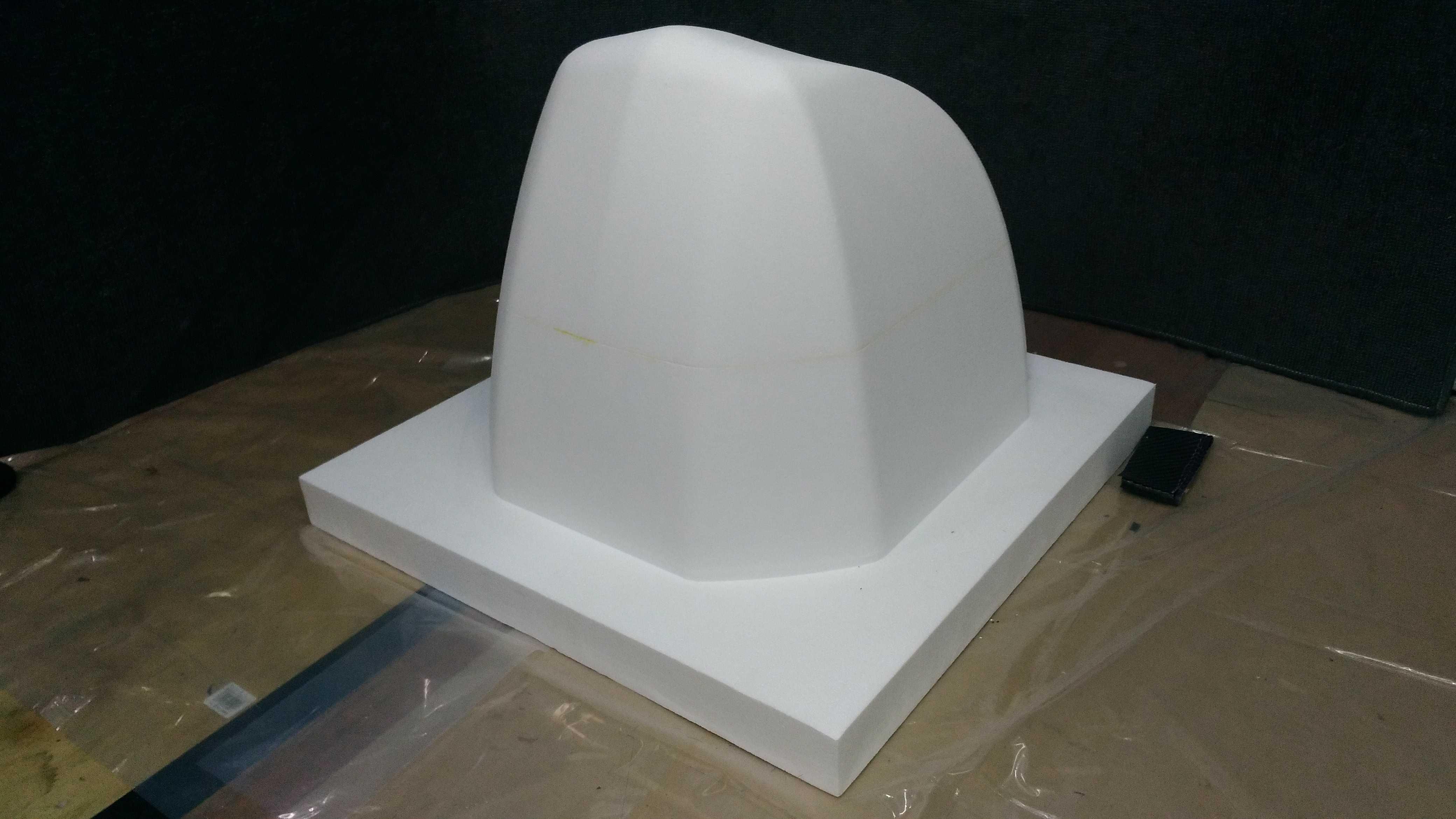 株式会社玉津浦木型製作所様にフロントカウル型を製作していただきました!_c0139127_18000176.jpg