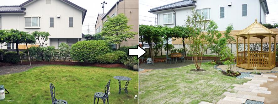 お庭のダイエット_f0045132_11021719.jpg