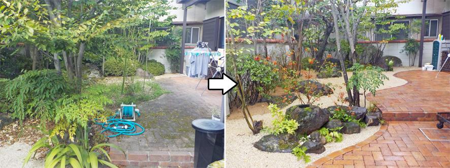 お庭のダイエット_f0045132_11024730.jpg