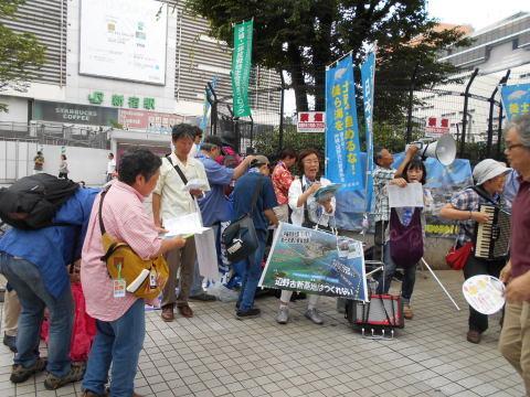 昨日の辺野古新宿デモと参院選雑感_b0050651_08492665.jpg