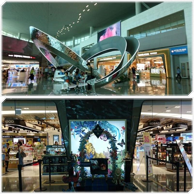 仁川空港第2ターミナルで食事_b0236665_06374925.jpg