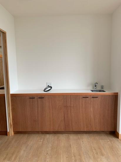 鳴門の歯医者さん ラワンベニアの家具、建具の現場。_f0053665_13343017.jpg