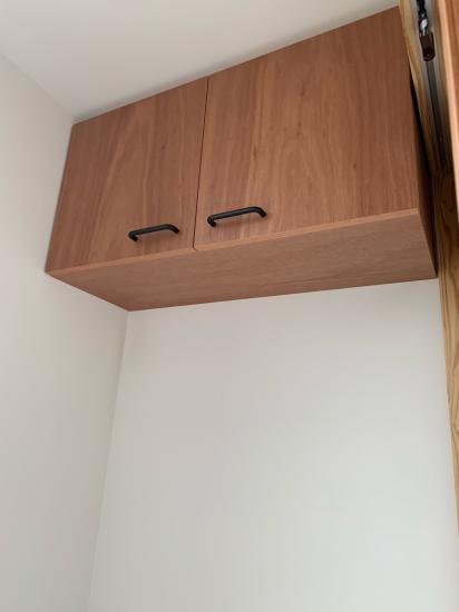 鳴門の歯医者さん ラワンベニアの家具、建具の現場。_f0053665_13353774.jpg
