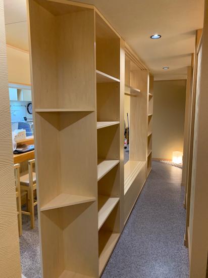 栄町のお寿司屋さん 建具、家具工事_f0053665_20423318.jpg